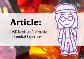 Article: D&D Next – An Alternative to Combat Expertise