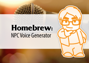 Homebrew: NPC Voice Generator